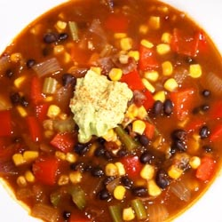 black bean chipotle soup