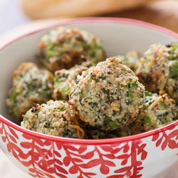 brocolli meatballs