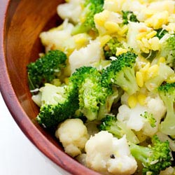 cauliflower brocolli poriyal