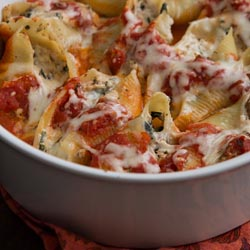 cremini chard stuffed shells