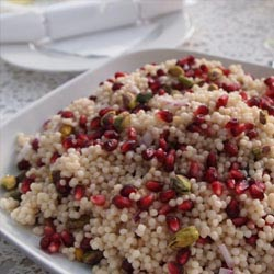 israeli couscous jewel salad