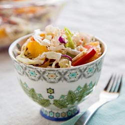 orange sesame coleslaw