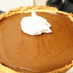 pumpkin pie maple cream