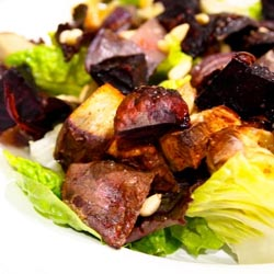 roast root veggie salad
