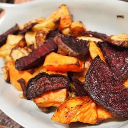 roast root veggies
