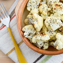 roasted chia cauliflower