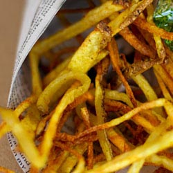 spiced indian potato chips